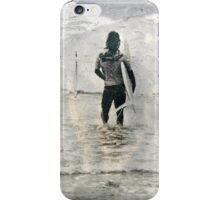 Lone Surfer iPhone Case/Skin