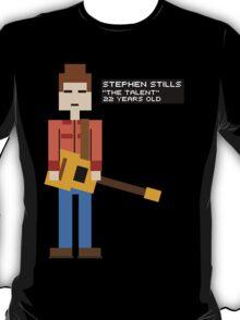 Stephen Stills - The Talent - 8-Bit T-Shirt