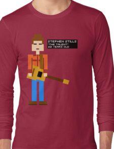Stephen Stills - The Talent - 8-Bit Long Sleeve T-Shirt