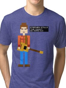Stephen Stills - The Talent - 8-Bit Tri-blend T-Shirt
