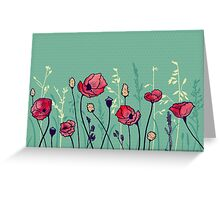 Summer Field Greeting Card