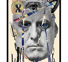 Dada Tarot-Devil by Peter Simpson