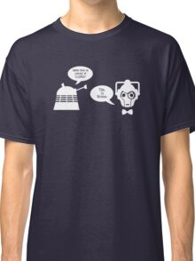 Daleks vs. Cybermen - The Inelegant Dalek Classic T-Shirt