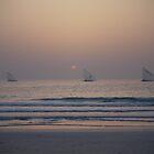 Persian Gulf Sunset by Emma Smith