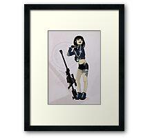Sniper. Framed Print