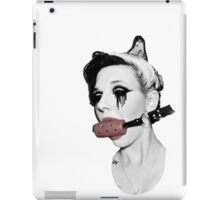Gagged Red iPad Case/Skin