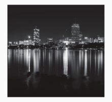 Boston viewed from Cambridge One Piece - Short Sleeve