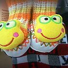 Kids long sox slippers in shop at the Plaza* by EdsMum