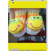 Kids long sox slippers in shop at the Plaza* iPad Case/Skin