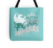 Merry Hippogriffs Tote Bag
