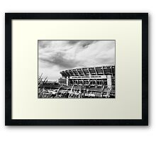 Cleveland Browns Stadium Framed Print