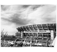 Cleveland Browns Stadium Poster