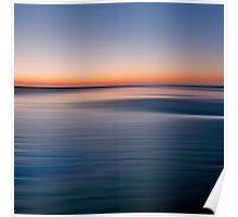 Motion sunset Poster