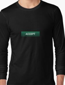 CSGO Competitive Match Accept Button Long Sleeve T-Shirt
