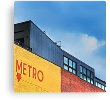 Metro Canvas Print