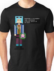 Ramona Flowers - Age: Unknown - 8-Bit Unisex T-Shirt