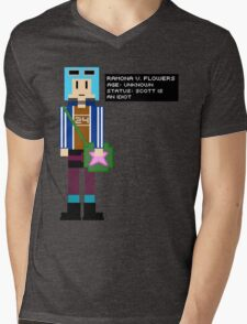 Ramona Flowers - Age: Unknown - 8-Bit Mens V-Neck T-Shirt