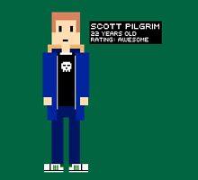 Scott Pilgrim - Rating: Awesome - 8-Bit Unisex T-Shirt