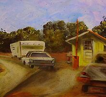 Toll Booth by hickerson