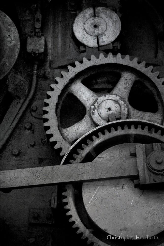 Steam Engine Detail by Christopher Herrfurth