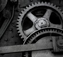 Steam Engine Detail by Christopher Herrfurth