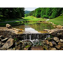Rumbling Bald Golf Course Photographic Print