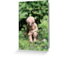 Within Greeting Card