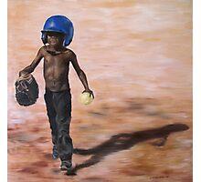 Baseball Boy III Photographic Print
