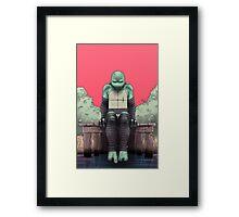 TMNT - Leonardo Framed Print
