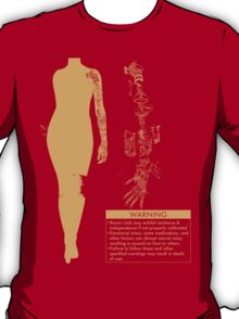 Bionic Arm Warning Shirt T-Shirt