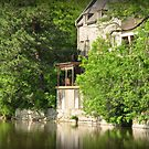 In the shadow of the old mill... by MarieG
