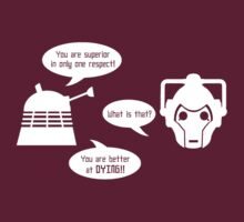 Daleks v Cybermen - Ultimate BURN
