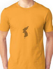 Pixel Korea Map Unisex T-Shirt