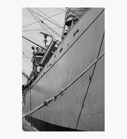Steel Hull Photographic Print