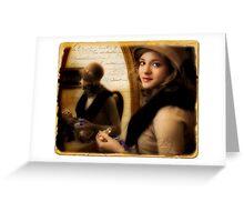 Aromatique Greeting Card