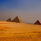 The Giza Plateau by Paul Tait