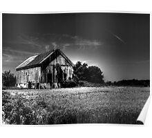 Delaware Barn Poster