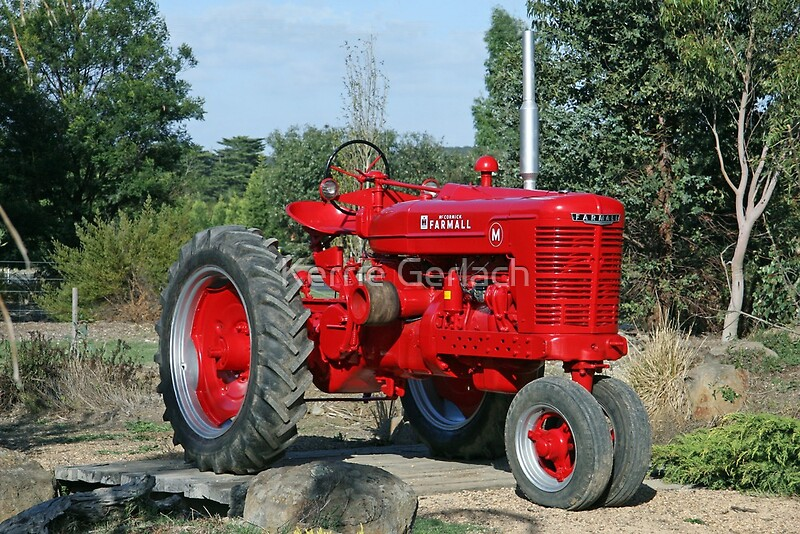 Farmall Wall Decals : Quot farmall tractor canvas prints by kerrie gerlach redbubble