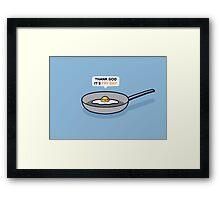 Fry-day Framed Print