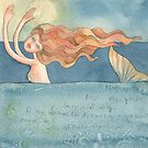 Mermaid ,illustration of the story &quot;Ligea&quot; by vimasi