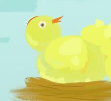 Fluffy Chick by Betty Mackey