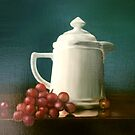 Coffee and Grapes by Diane Johnson-Mosley