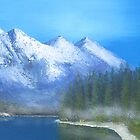 Misty Morning by Diane Johnson-Mosley
