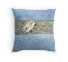 Ulysses look for the siren Throw Pillow