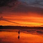 Apocalyptic Sunset by Cathy Martin