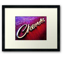 CHEVROLET Framed Print