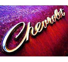 CHEVROLET Photographic Print