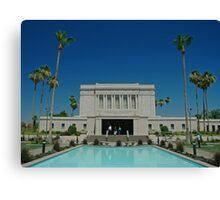 Mesa Arizona LDS Temple Canvas Print