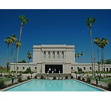Mesa Arizona LDS Temple Photographic Print