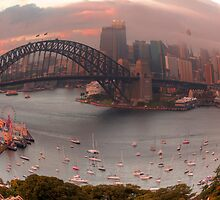 Twisted - Sydney Harbour, Sydney Australia - The HDR Experience by Philip Johnson